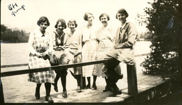 Kappa Alpha Theta 26th Convention, 1922, Lake Placid, NY #theta1870