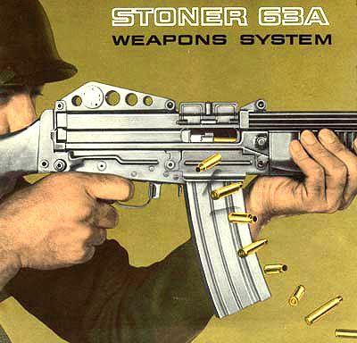 Stoner 63 A.                                                                                                                                                                                 More