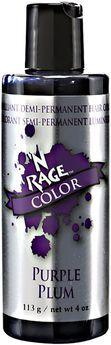 N Rage Demi-Permanent Hair Color Purple Plum | This is perfect for summer, it washes out within 2 weeks and is great!  I have to try this!!