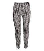 Check this out! Een enkellange pantalon van elastische, geweven kwaliteit met smal toelopende pijpen met een splitje onderaan. De broek heeft een fake zak achter en een blinde ritssluiting aan de zijkant. – Ga naar hm.com om meer te bekijken.