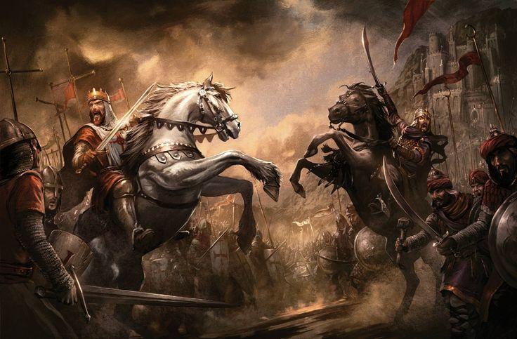 Battle between Richard the Lionheart and Saladin