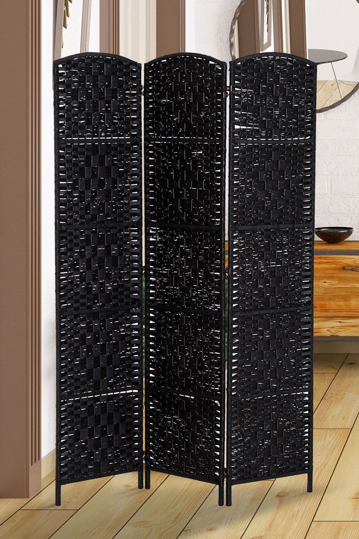Folding Room Divider 3 Panel Screen Privacy Home Decor Free Standing