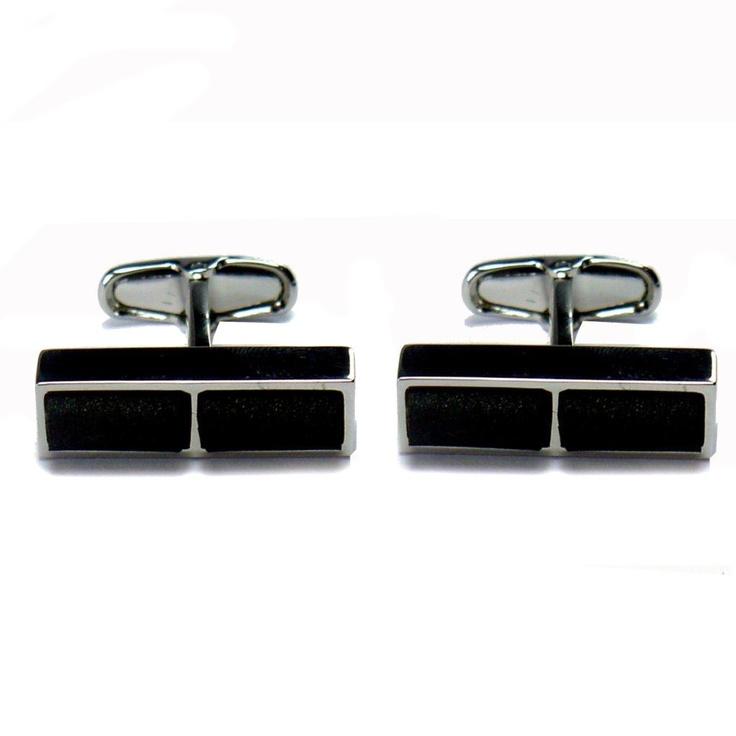 GiroGENT Nero Black Cufflinks