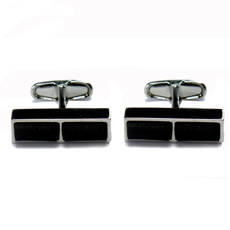 GiroGENT Nero Black Cufflinks