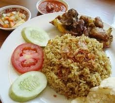 Fragrant Rice n Chicken (Nasi Kebuli)