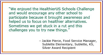 The HealthierUS School Challenge (HUSSC) is a voluntary certification initiative established in 2004 to recognize those schools participating in the National School Lunch Program that have created healthier school environments through promotion of nutrition and physical activity. fns.usda.gov