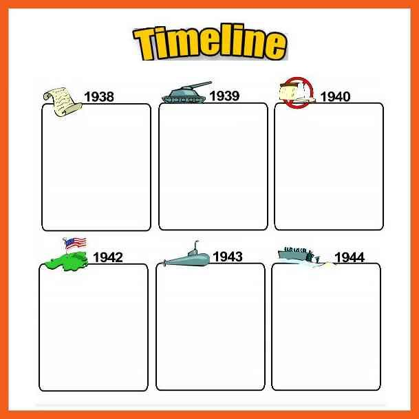 Timeline Example Blank Daily Timeline Template For Kids Example 7