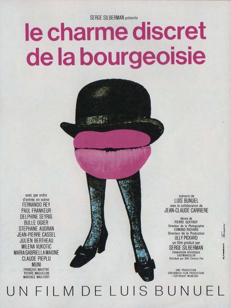 The Discreet Charm of the Bourgeoisie (1972).