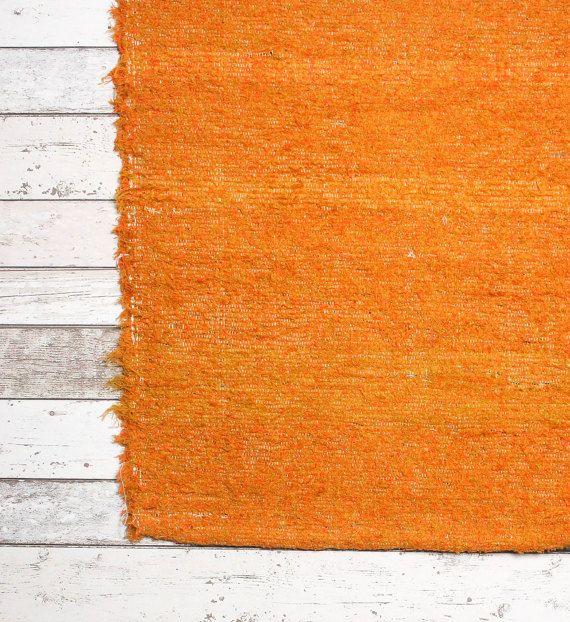 Orange Rug 120x160 cm. 4' x 5'3 Orange Children