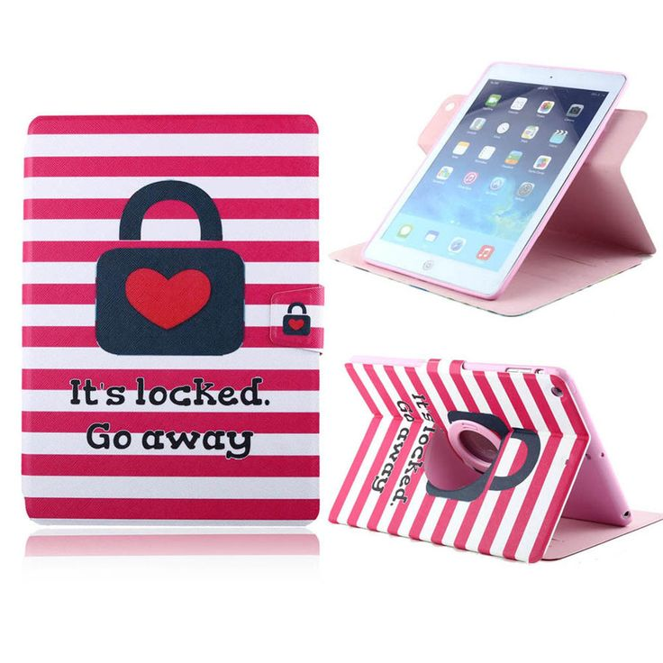 Amazing Case For Apple i Pad 2 3 4 360 degree rotating stand Flip magnetic leather Cover Case For i Pad 2 3 4 with Card Holder