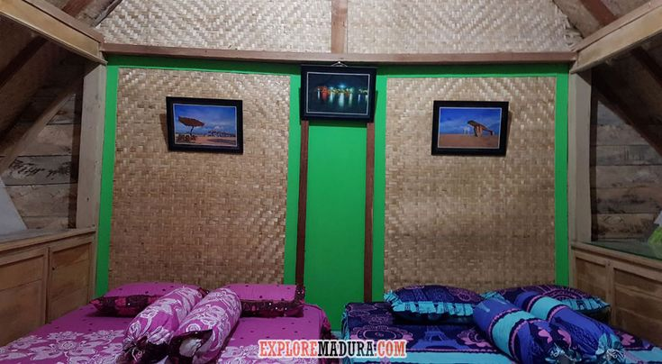 Guest House di Pantai Sembilan, GIli Genting, Madura