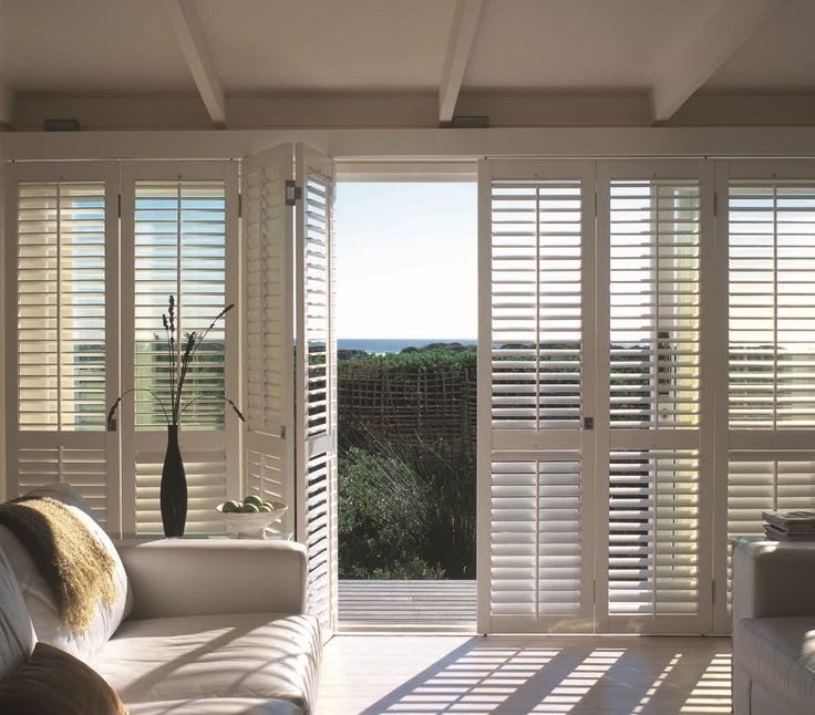 Trojan timbers internal bifold plantation shutters Plantation shutters for doors interior
