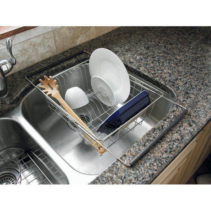 Sink Stainless Steel In Sink Dish Rack Small Kitchen Sink Dish