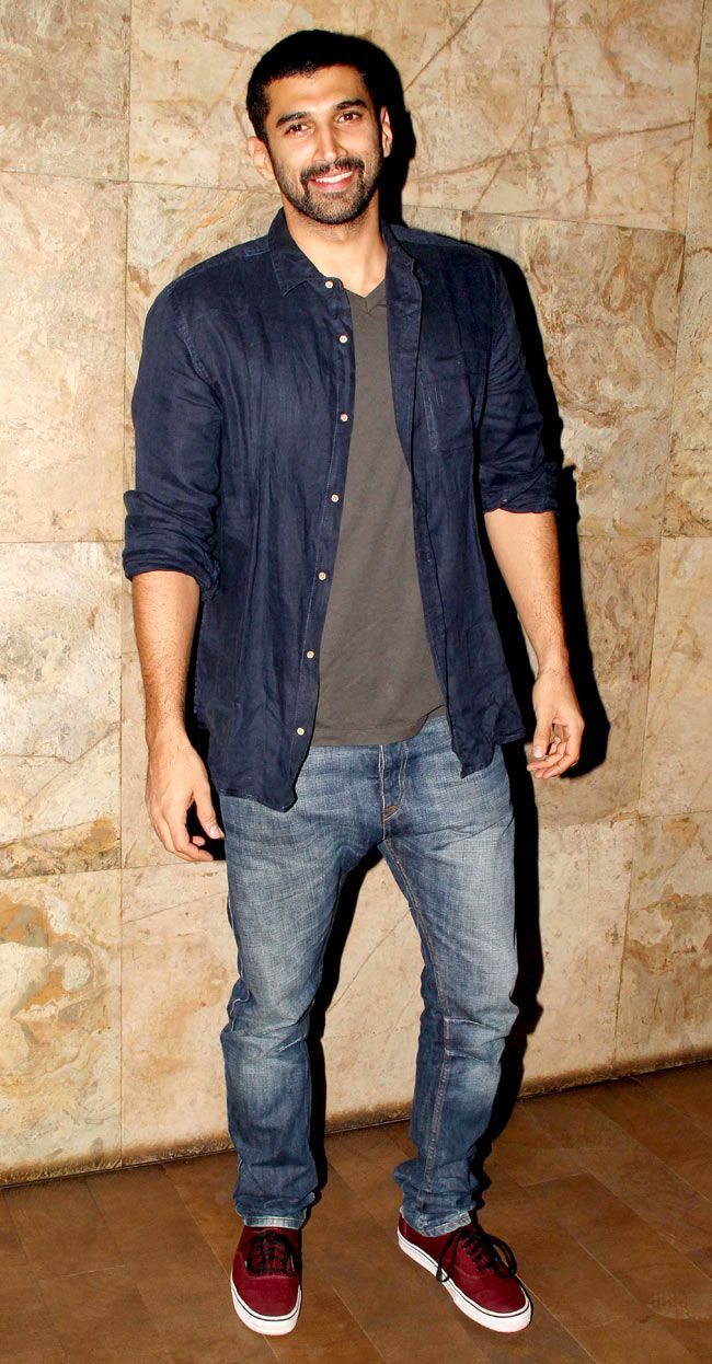 Aditya Roy Kapur at special screening of 'Gulabi Gang'. #Style #Bollywood…