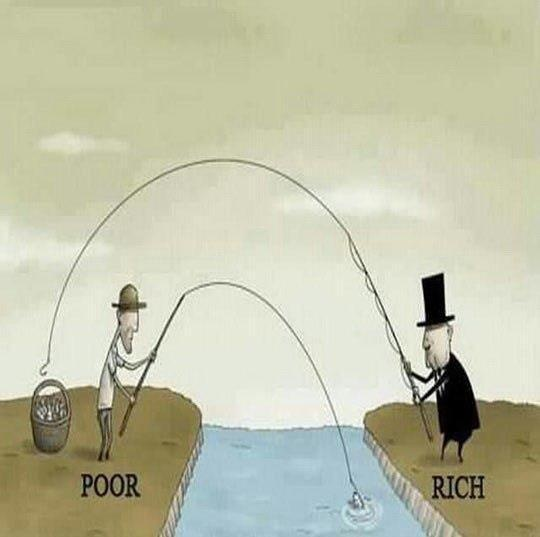 rich vs poor cartoons - photo #39