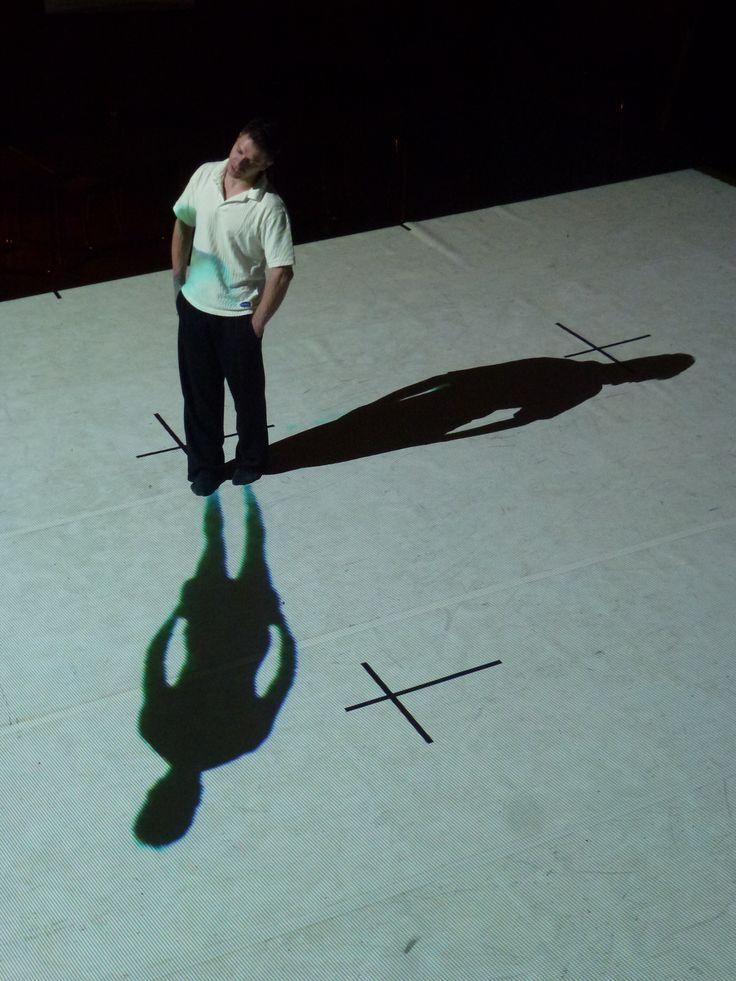 Laterna magika - Cube - work inprogress - testing the shadow