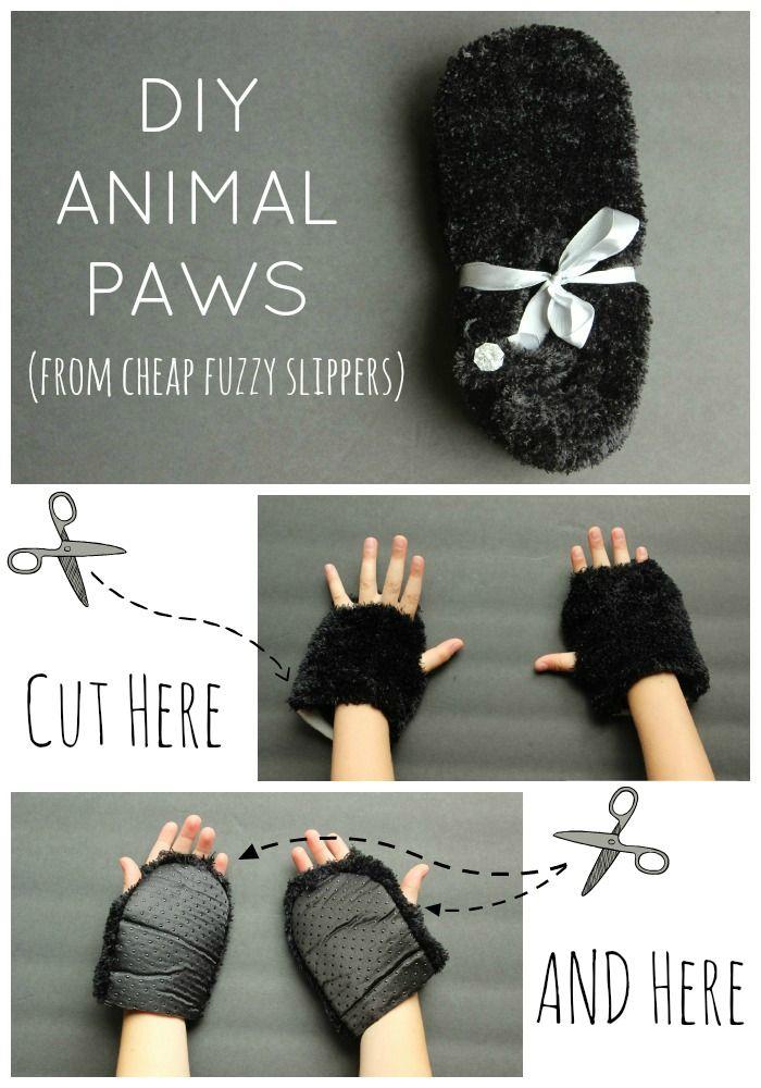 Recycler vos vieilles pantoufles... en pattes d'ours!