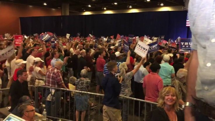 RSBN Showing the AMAZING HUGE Crowd at Donald Trump Rally in Phoenix, AZ