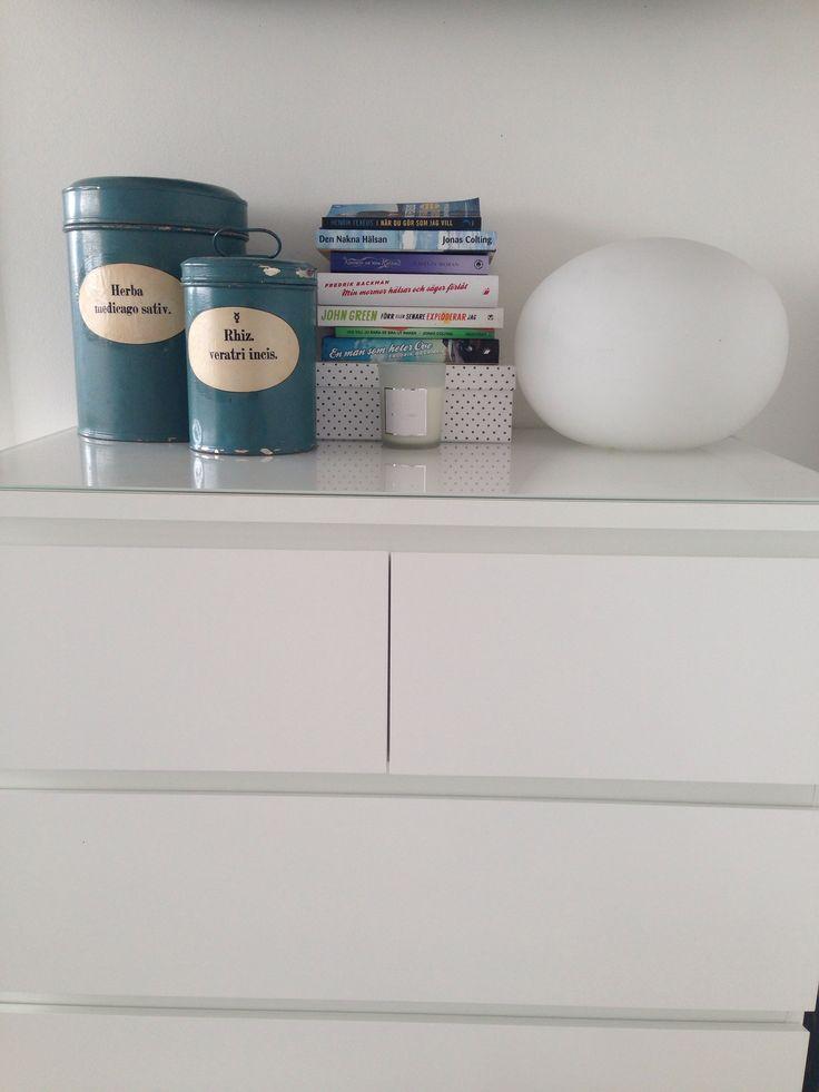 Förvaringen i sovrummet behövde uppdateras