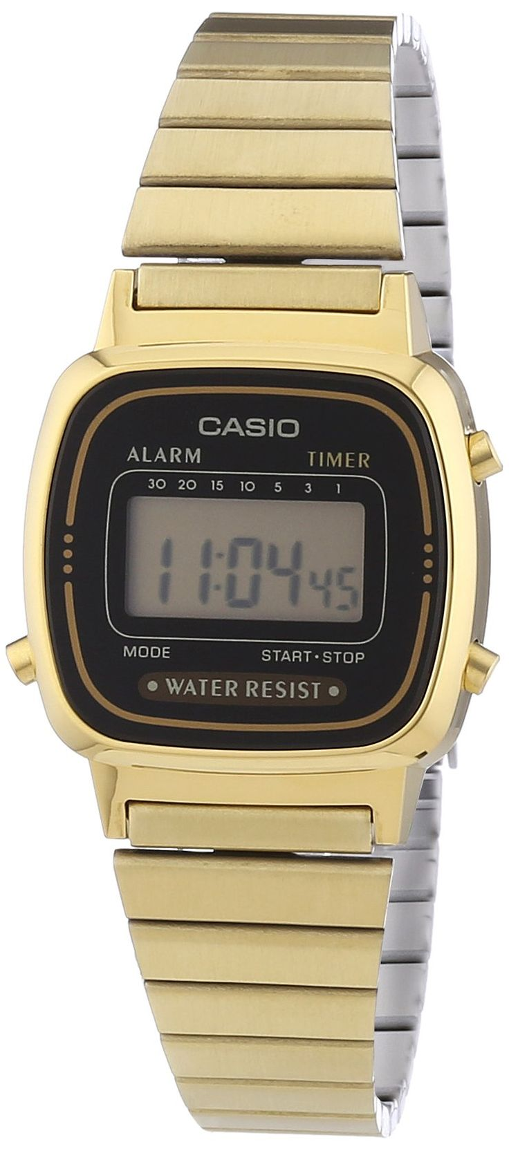 Casio Ladies Bracelet Digital Watch La670Wega-1Ef: Casio: Amazon.co.uk: Watches