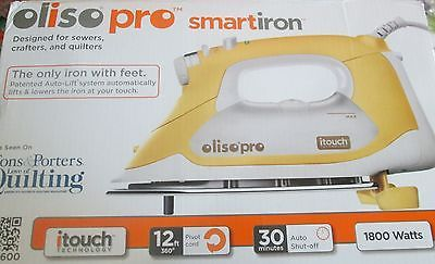 Ends in 2 days, bid now! Auto Lift OlisoPro Iron, ITouch Smart Iron, Quilting Iron, Auto Lifting Iron