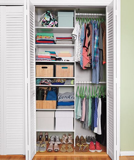 Try these DIY home makeover ideas to transform a closet, playroom, garage, and more classic clutter zones into well-organized havens.