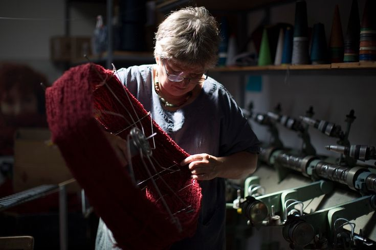 Some Merino Boucle which we got spun for us in Italy and dyed by Cushendale Woollen Mills | McKernan Woollen Mills | Handmade in Ireland | Irish Design | Weaving & Knitting | Mens & Womens Accessories