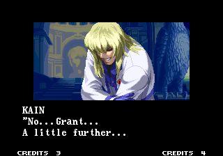 Ending for Garou: Mark of The Wolves-Grant Good Ending(Neo Geo)