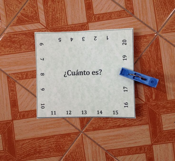 cuanto es(5) . . . great clothespin ideas for French class, too!