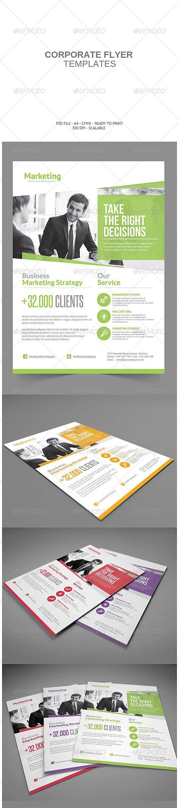 Corporate Flyer - Print Templates
