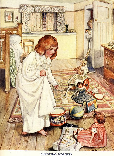 Christmas Morning    By A.A. Dixon ( Arthur Dixon)