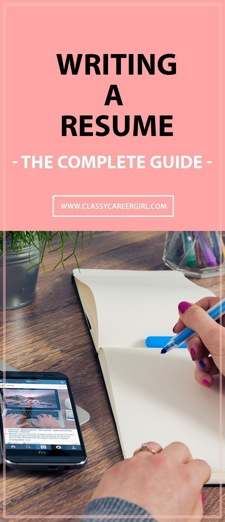 Writing a Resume The Complete Guide