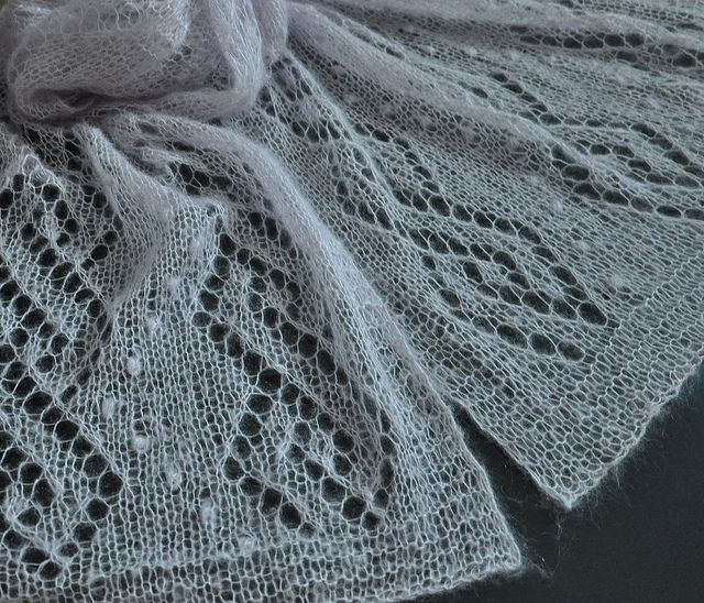 Lighter than perfume by Lidia Tsymbal- Free scarf Pattern