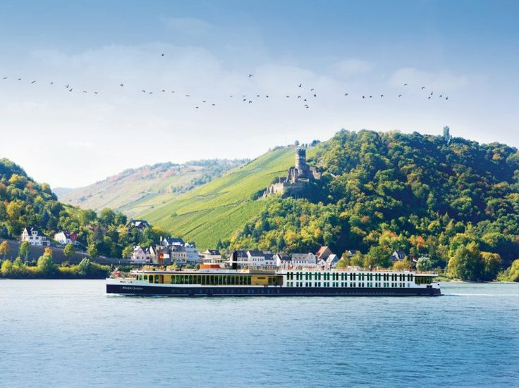 So awesome to be on a #RiverCruise and sail past #Castles ! Bike thru Small towns... #Romance !