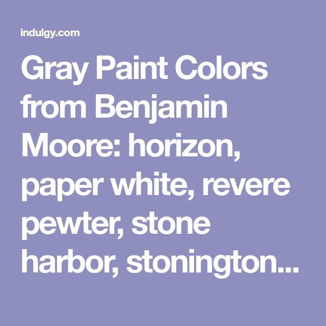 Benjamin Moore Stone Harbour: Best 25+ Benjamin Moore Horizon Ideas On Pinterest