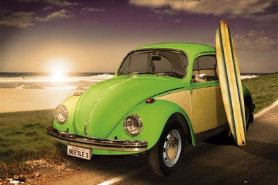 VW-BEETLE - used to own a green one.... would like to own another someday.