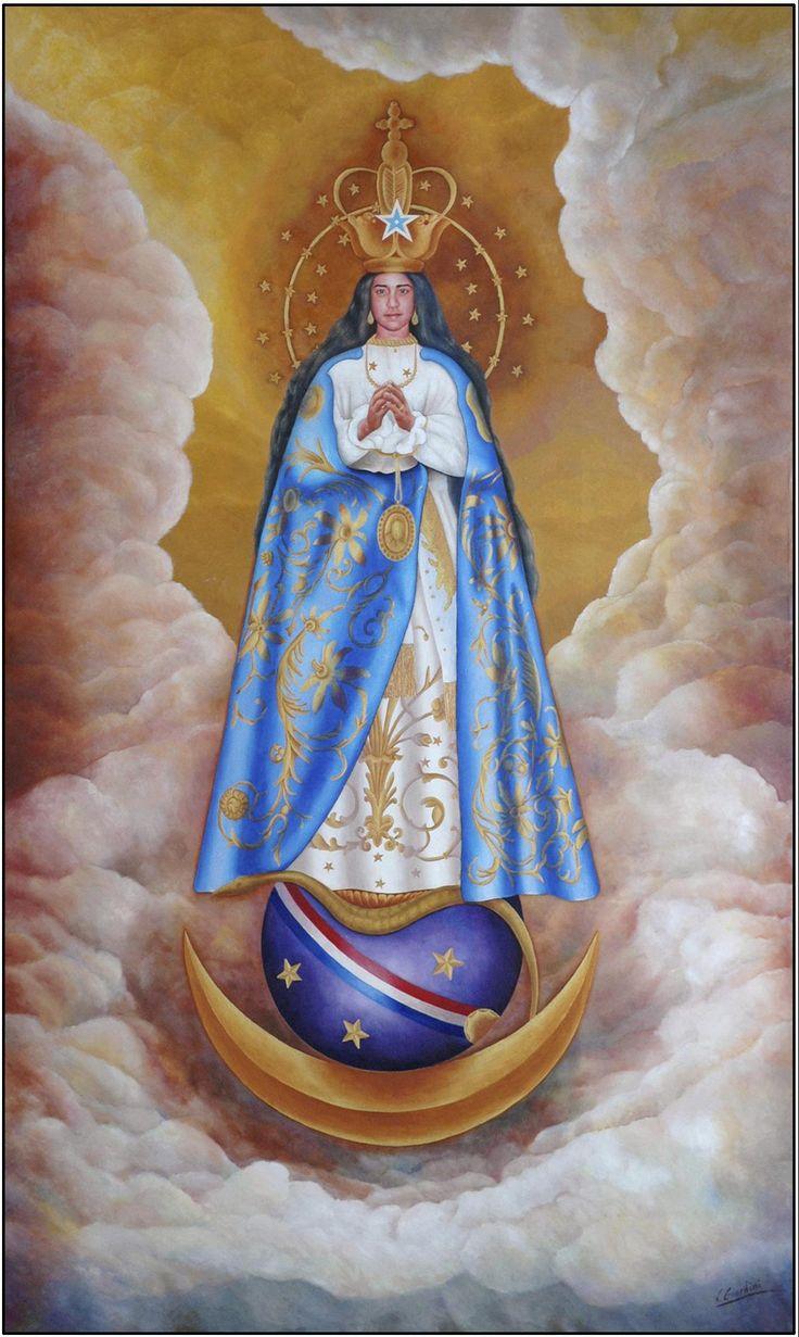 pintura Berazategui-Caacupe Virgen