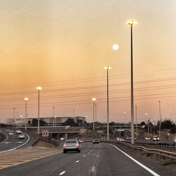 Johannesburg - Open Road - Sunset - Photo Shared by @MikeStopforth