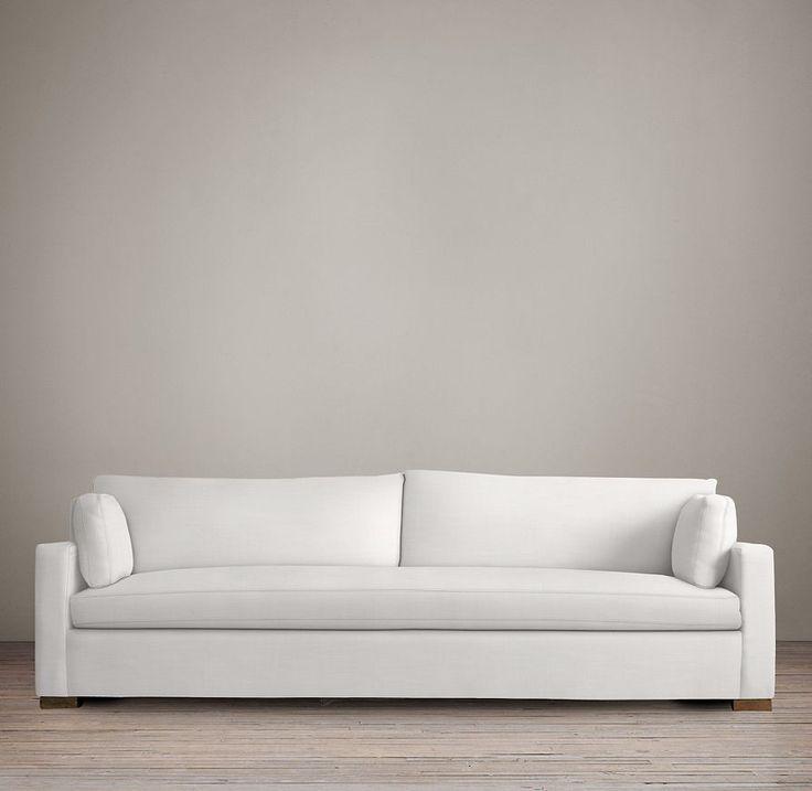 8' Belgian Track Arm Upholstered Sleeper Sofa