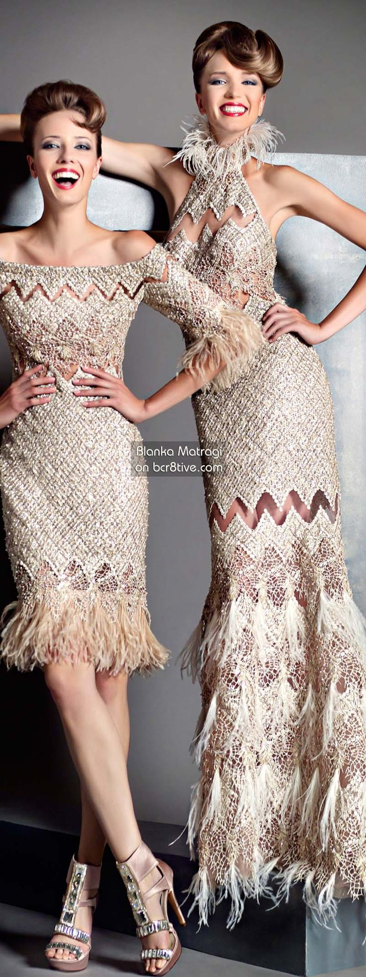 Blanka Matragi 30th Anniversary Couture Collection on bcr8tive.com