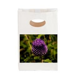 Purple Thistle Canvas Lunch Tote