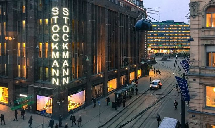 Our new location is Aleksanterinkatu 17, just next to Stockmann shopping center.