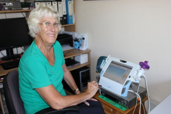 Our broadband-enabled home monitoring tool is helping hundreds of elderly Aussies like Frances manage chronic disease, saving the hassle of hospital and GP visits.