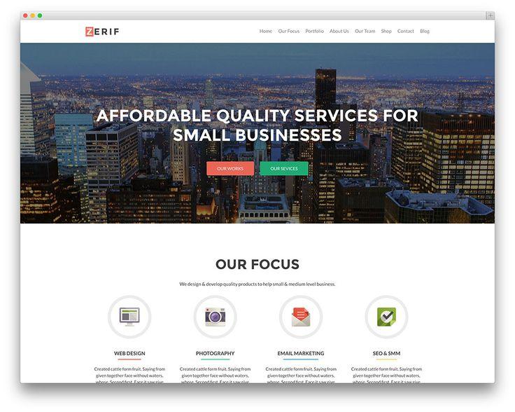 zerif pro business theme