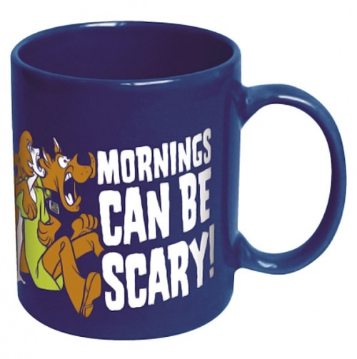 Scooby-Doo Mornings Can Be Scary Ceramic Mug                                                                                                                                                                                 More