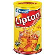 Lipton Lemon Sugar Sweetened Iced Tea Mix, 74.2 oz(Pack of 4) -- More details can be found by clicking on the image.
