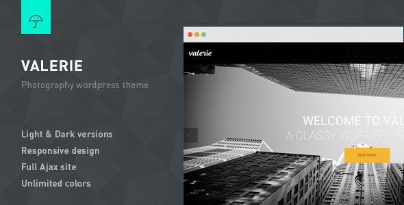 Photography WordPress Theme, Download Valerie v2.7.2 – Photography WordPress…