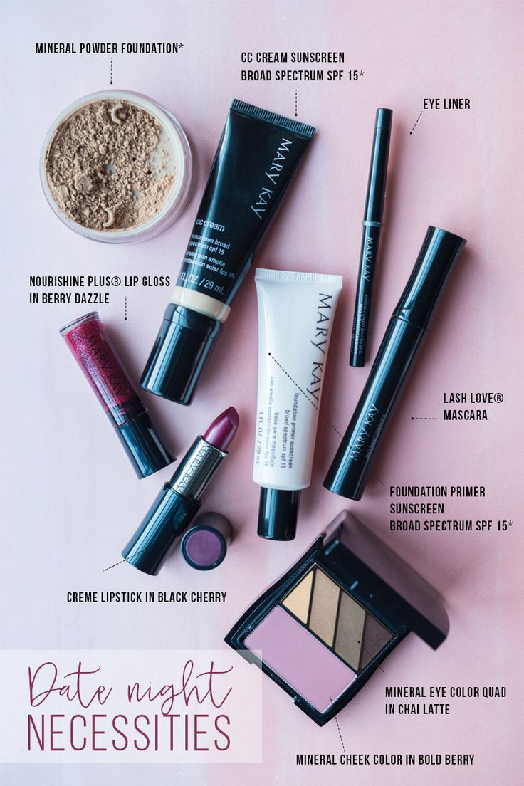 Embrace the winter season with this berry beautiful date night makeup look! Your lips will stun in Dark Cherry and Berry Dazzle. | Mary Kay