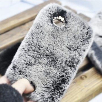 Luxury Fur Style Fluffy Phone Case for iPhone 4/4S/5/5S/Galaxy S3/S4