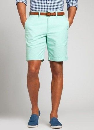 How to Wear Mint Shorts (25 looks)   Men's Fashion
